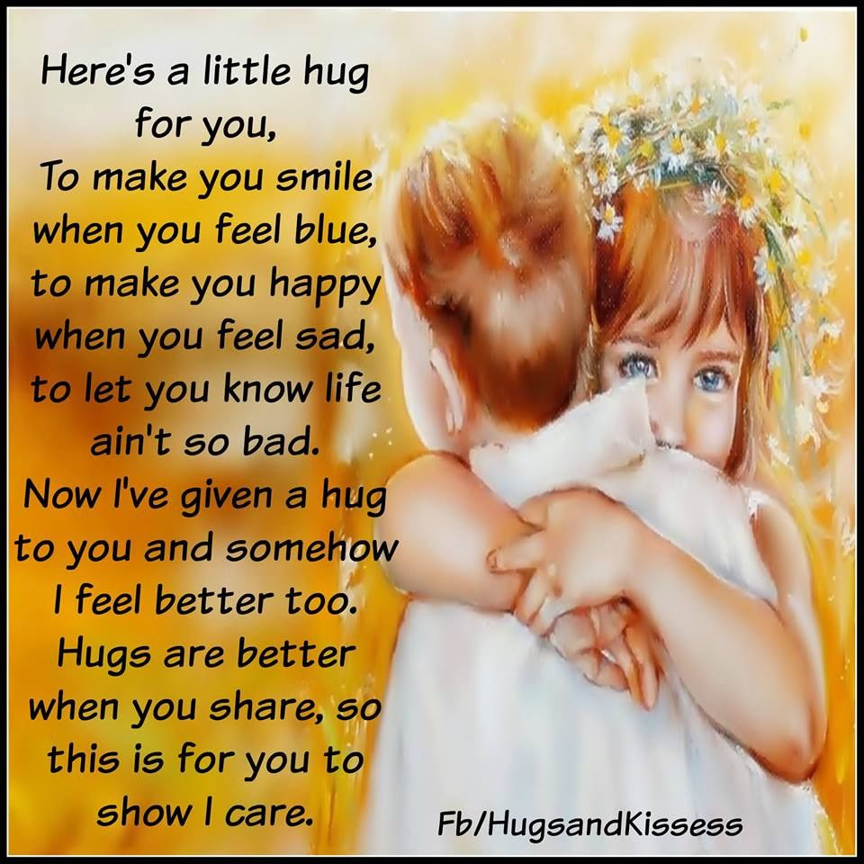 Here Is A Little Hug For You Pictures Photos And Images For