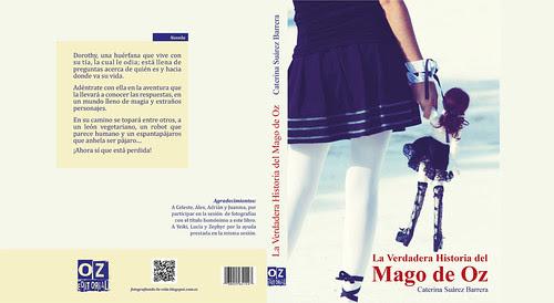 """Proyecto: Cubierta del libro """"La verdadera historia de Mago de Oz"""""""