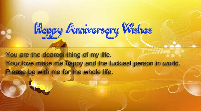 Wedding Anniversary Wishes For Wife Wishes4lover