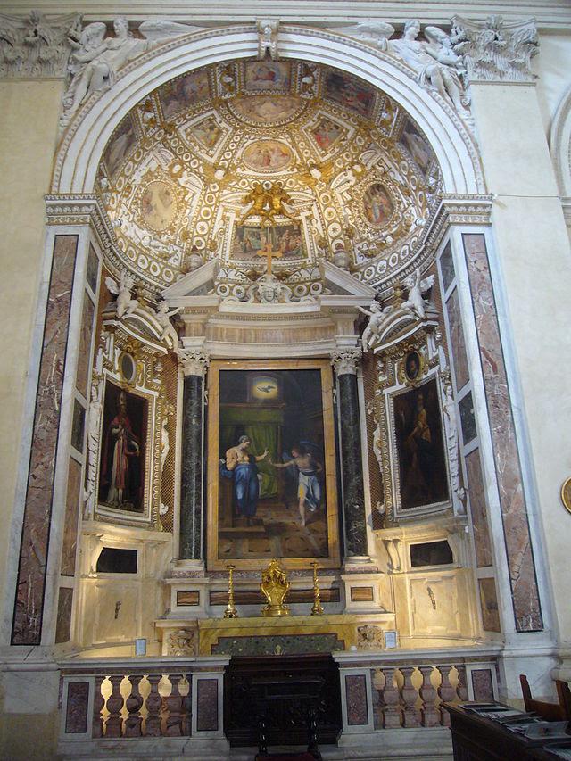S Angelo - Caterina dei Funari s - CAPP Canuto Annnunciazione 1200043.JPG
