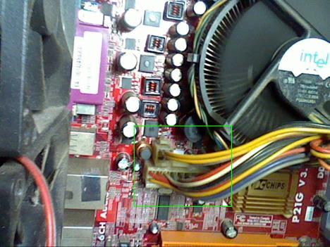 Socket Power Motherboard