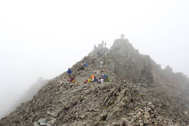 Hotakadake summit