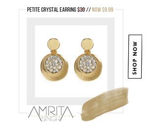 Steal of the Week: $9.99 Petite Crystal Earring