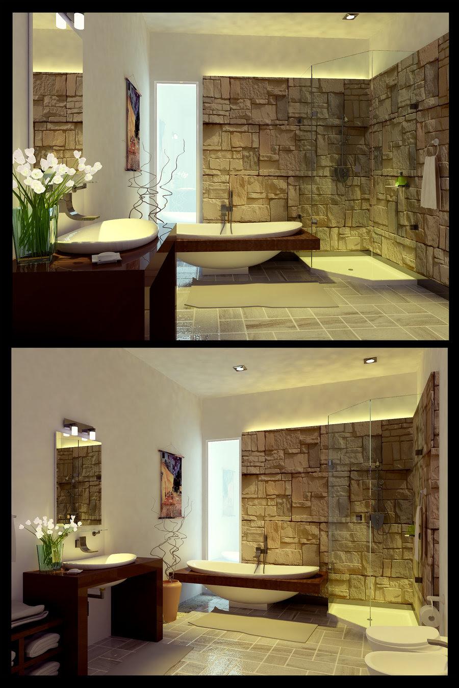 25 Peaceful Zen Bathroom Design Ideas - Decoration Love