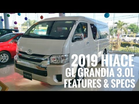 VIDEO: Toyota HIACE GL Grandia 3.0L  | White PEARL (Philippines) | Video by Marvin Masongsong