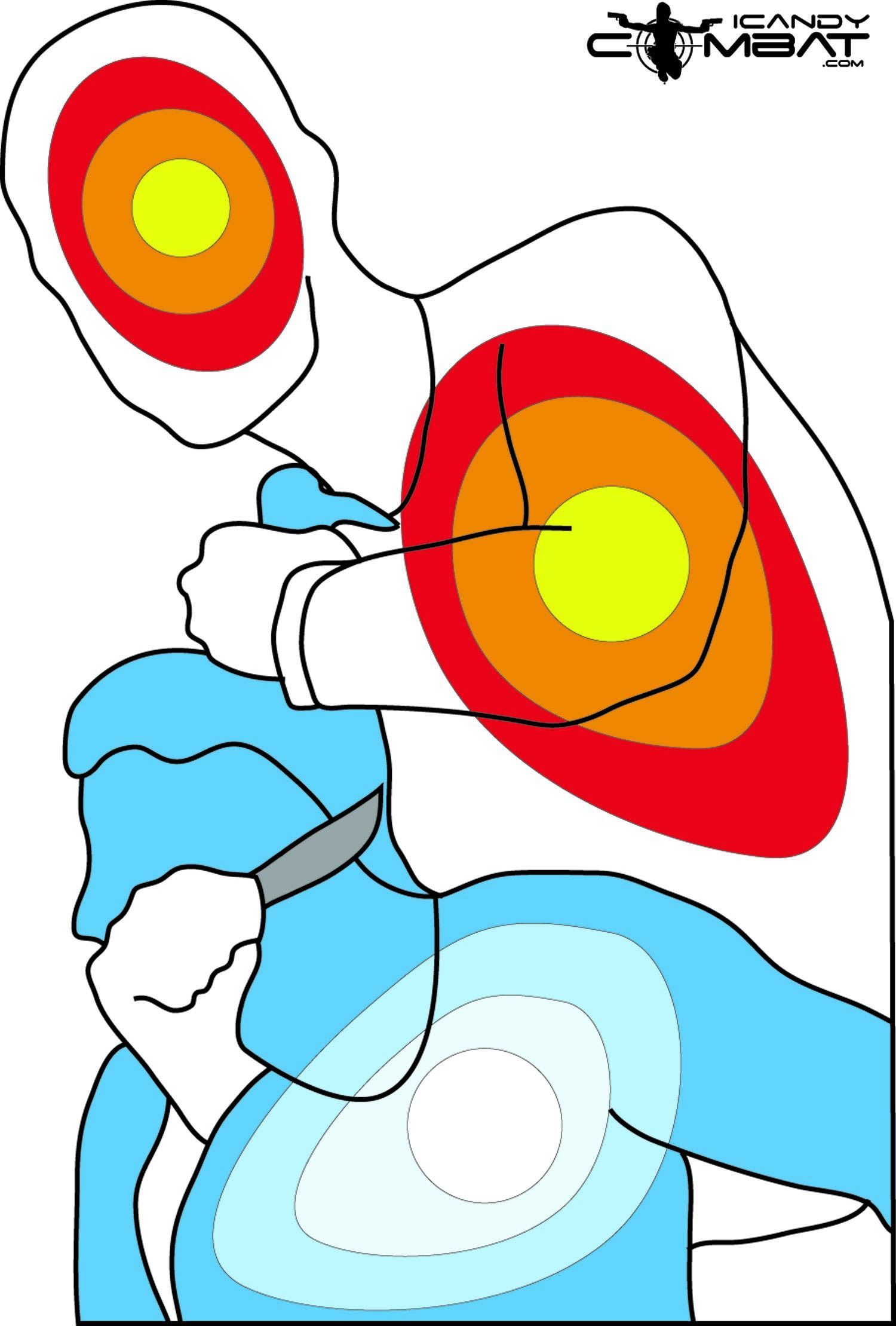 Free Online Printable Shooting Targets   FREE printable targets ...