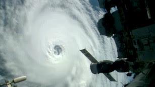 NASA grabs stunning footage of three hurricanes