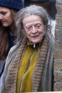 Dame Maggie Smith becomes street beggar in new BBC drama