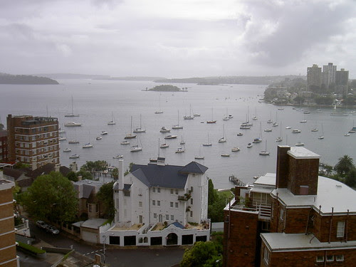 Elizabeth Bay from Potts Point