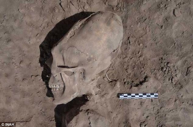 mexican alien skull