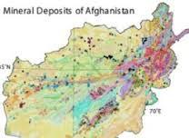 Afghanistan mineral deposits