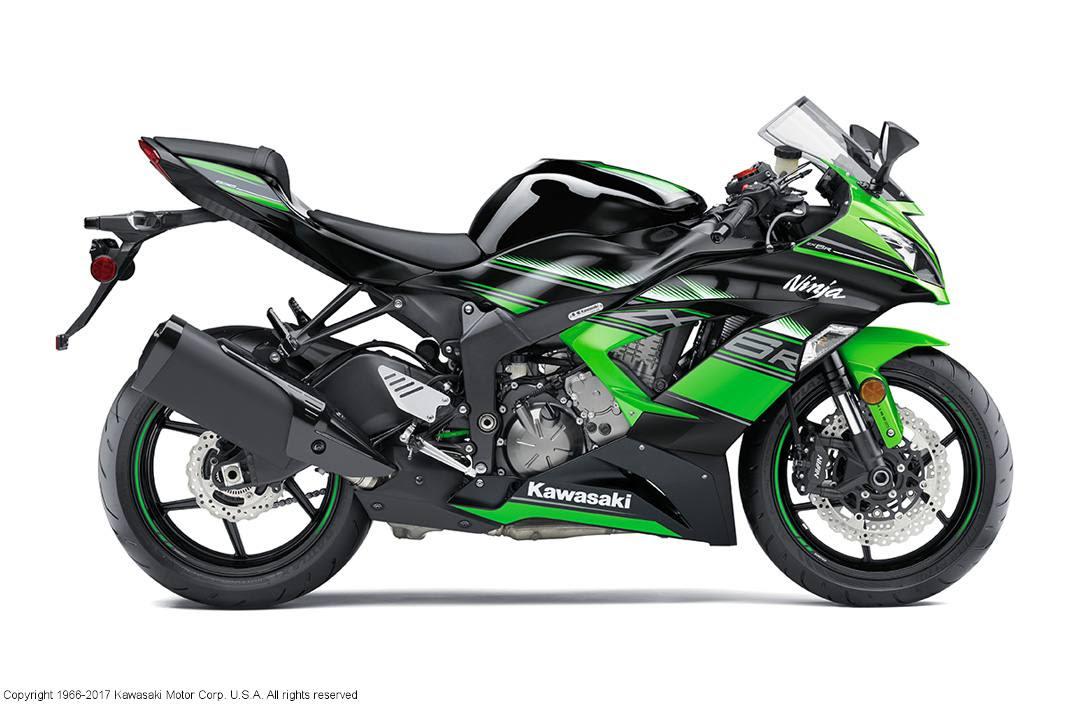 2017 Kawasaki Ninja Zx 6r Krt Edition