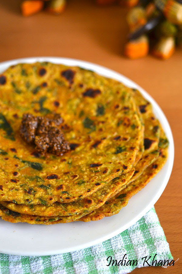 Gujarati-Methi-Thepla-Recipe