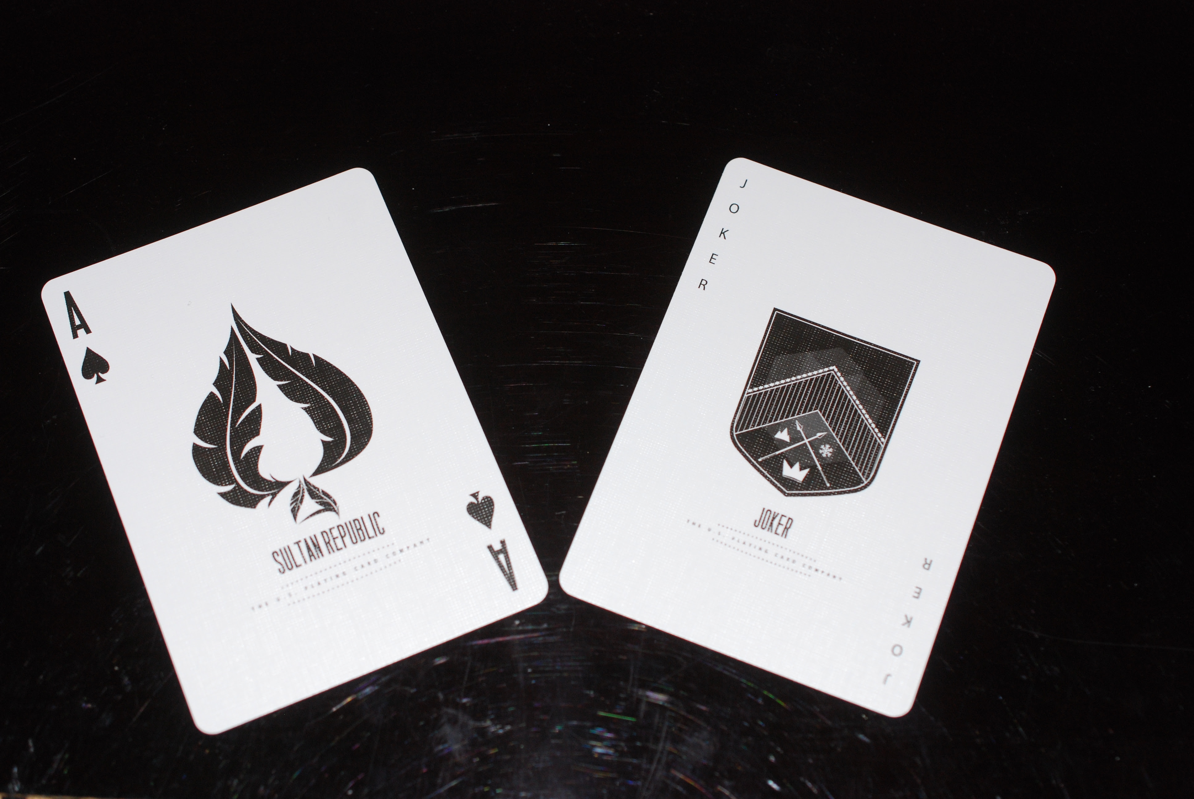 Sultan Republic Ace of Spades and Joker