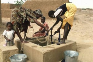 Puits sous-sol africain