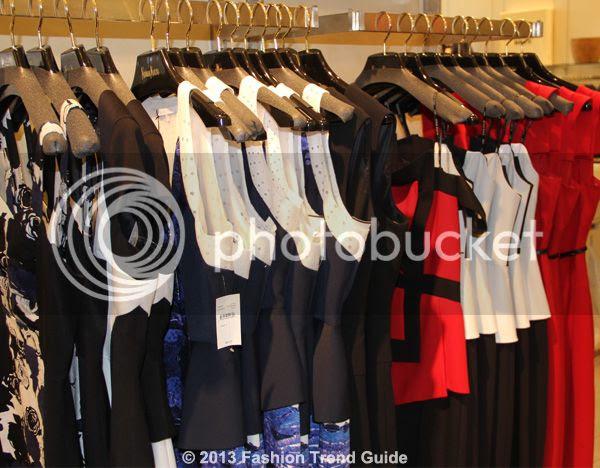 Black Halo dresses at Neiman Marcus Topanga