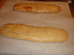Cinnamon Biscotti first bake
