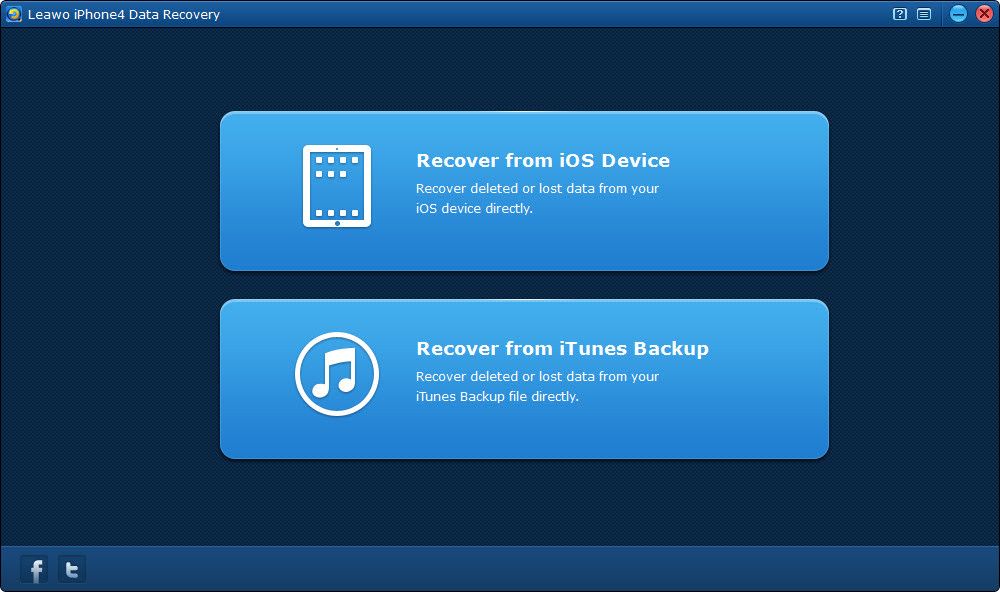 How to Recover iPhone Files After Factory Reset  Leawo Tutorial Center