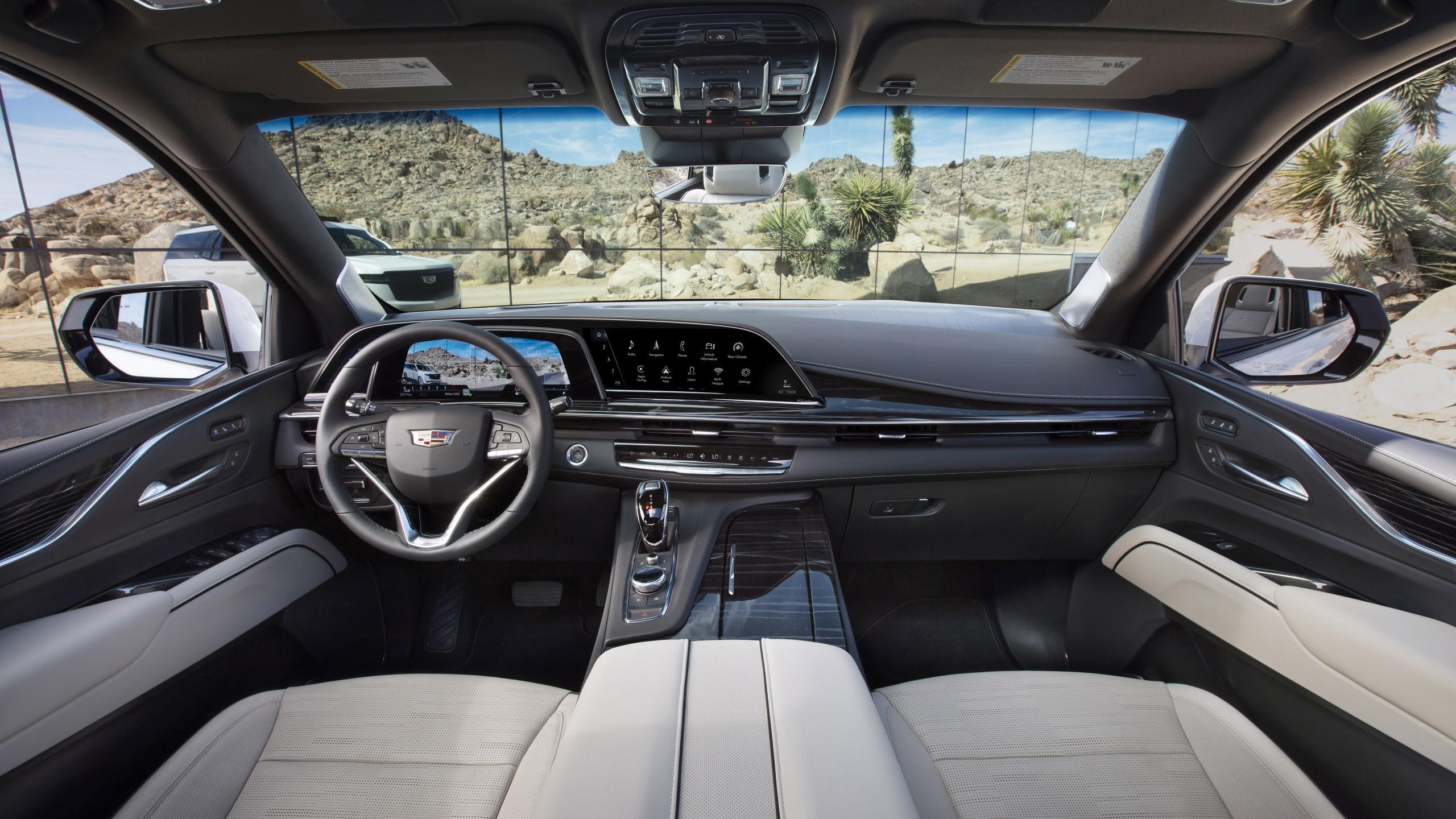 2021 cadillac escalade platinum sport interior 5k