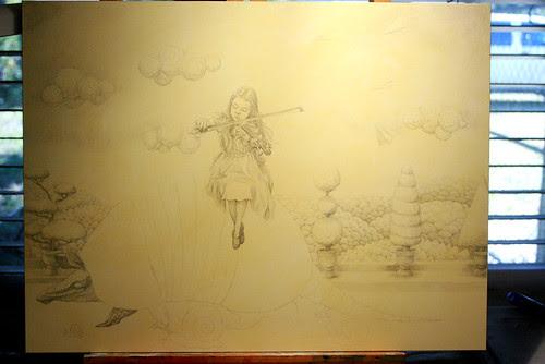WIP - Armadillo Dream (Pencils 2)