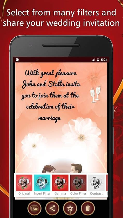 Wedding Invitations Card Maker   Android Apps on Google Play