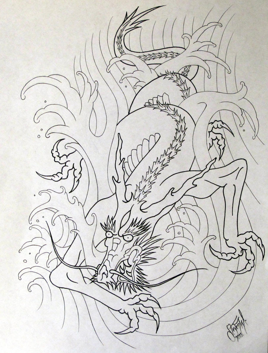 Pictures Of Japanese Water Dragon Tattoo Kidskunstinfo