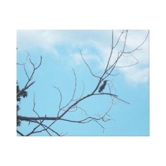 The Bird wrappedcanvas