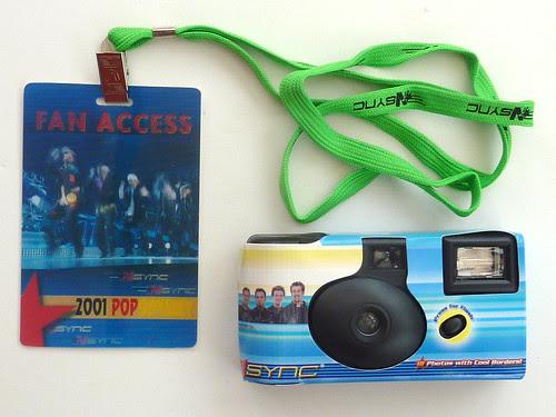 *NSYNC photofanpack camera by pho-Tony