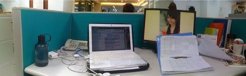 辦公桌全景