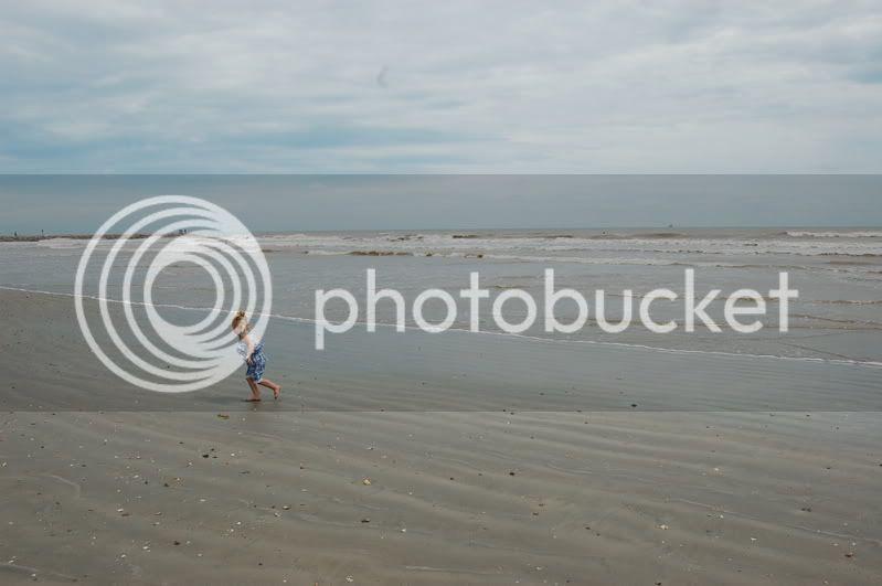 Tabitha at the beach
