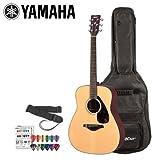 Yamaha JF-FG700S-KIT-2 Acoustic Guitar Kit withGig Bag, Strap and Planet Waves Pick Sampler