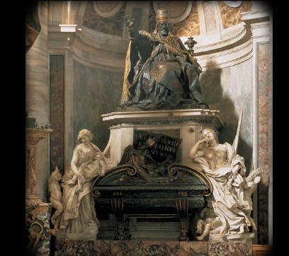 Tumba de Urbino VIII por Bernini