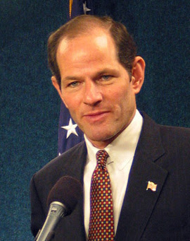 "{{w|Eliot Spitzer}}, ""New York State Atto..."