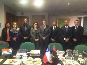 Delegación de ANGOLA y ASOEX