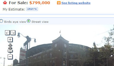 screenshot of zillow