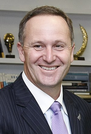John Key, New Zealand politician