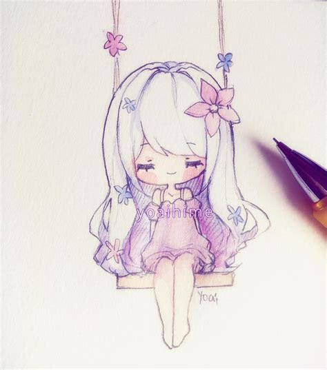 caloroso kawaii pinterest doodle sketch chibi