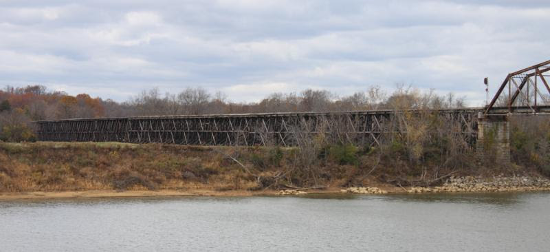 Trestle Bridge in Clarksville Tennessee