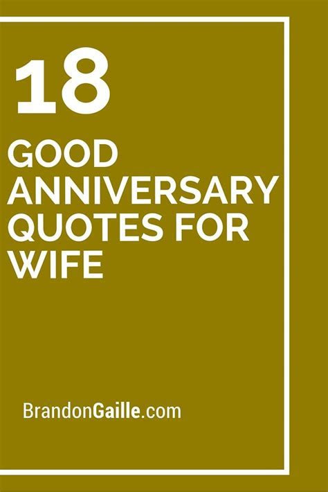 18 Good Anniversary Quotes for Wife   Messages and