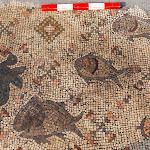 פסיפס המתאר את נסי ישו התגלה בכנסיה עתיקה ושרופה בסוסיתא - הידען