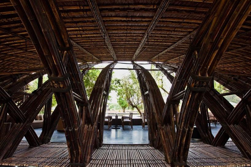 vo Trong Nghia arquitectos bambú ala designboom