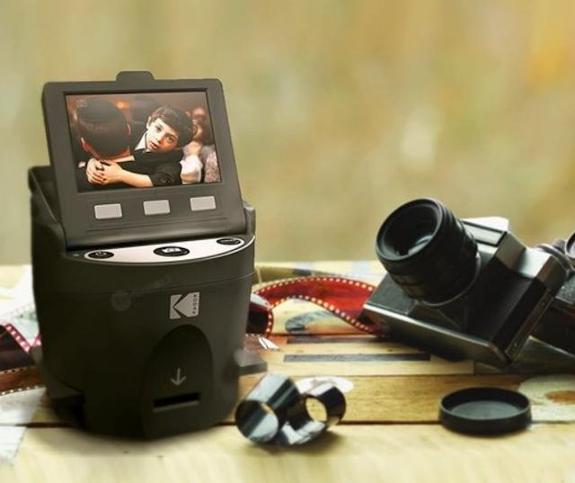 【保存舊底片】柯達 KODAK SCANZA 數碼膠片和幻燈片掃描儀 將膠片、底片、幻燈片轉成 JPEG 檔