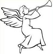 BELLISSIME IMMAGINI DA COLORARE DI ANGELI