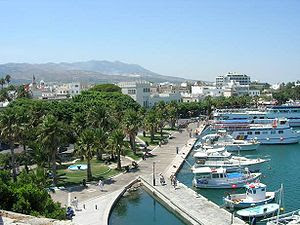 The harbour of Kos (city).