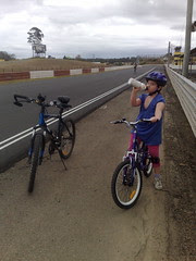 Cycling at the race-track (2)