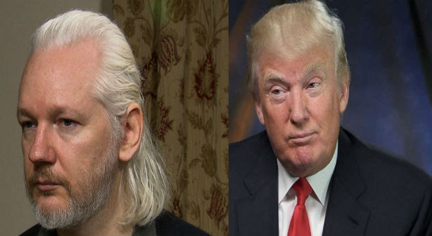 donald trump betrayed wikileaks on assange arrest from us officials