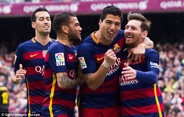 Barcelona are in pole position in the title race heading into Saturday's decisive round of La Liga fixtures