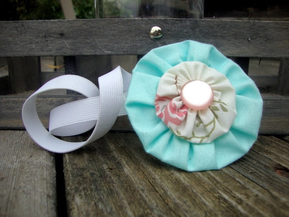 Flower Headband or Hair Clip