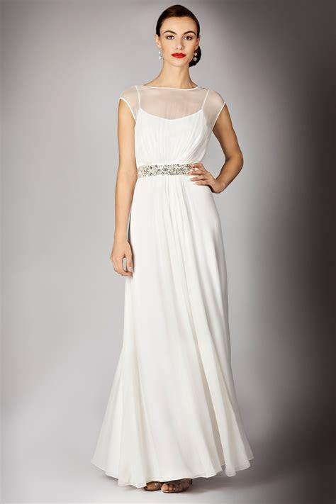 Coast Helena Maxi Dress in White   Lyst