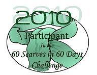 2010 60 Scarves in 60 Days Challenge
